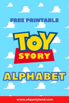 toy story printable alphabet - Toys for years old happy toys Toy Story Font, Fête Toy Story, Toy Story Baby, Toy Story Theme, Toy Story Cakes, Toy Story Birthday Cake, 2nd Birthday Party Themes, Boy Birthday, Birthday Ideas
