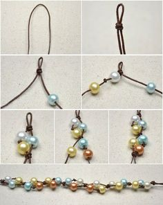 bead knotting tutorial - Cerca con Google