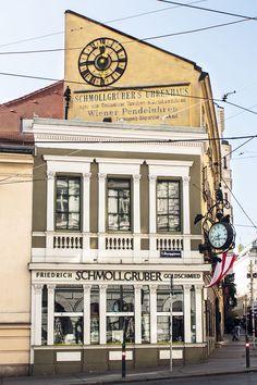 Online Magazine, Homeland, Vienna, Travel Inspiration, Colorful, City, Building, Instagram, Alone