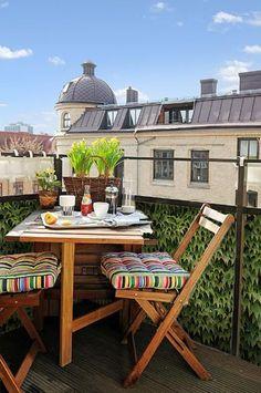 Balkondoek met natuurlijke klimop print #balkon_doek #balkon_scherm #balkondoek_inkijk