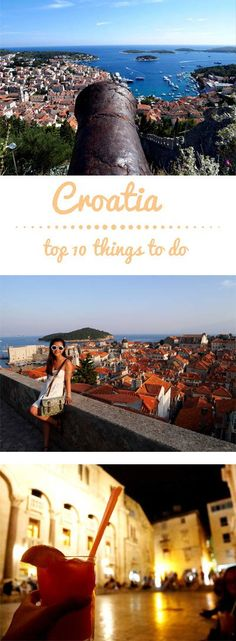 Croatia has been one of my favourite countries out of all the places that I have visited, and it's not hard to see why with its gorgeous coastline, cheap prices and rich histories. There are a lot of hard contenders for 10 best things to do in Croatia, but here's the list of my personal top 10 experiences: | #travel #traveltips #europe #croatia #dubrovnik | tourlina.com