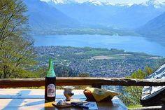Les 10 meilleurs grotti d'Ascona-Locarno Les Cascades, Beaux Villages, Mountains, Channel, Travel, Pork Ribs, Food Hacks, Dance Floors, Locarno