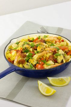 Paella (Simple One-Pan Rice) - Christine's Recipes: Easy Chinese Recipes | Easy Recipes