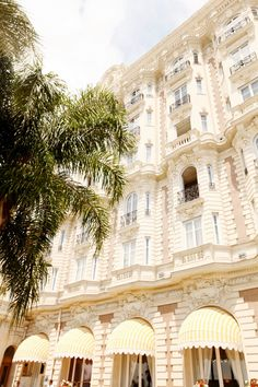 """Stay at the Carlton Hotel in Cannes. The film location of """"To Catch a Thief""""."""