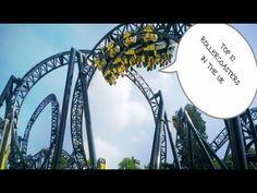 Top 10 Rollercoaster's UK 2013