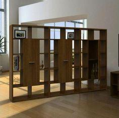 cloisons en bois design créatif de l'intérieur