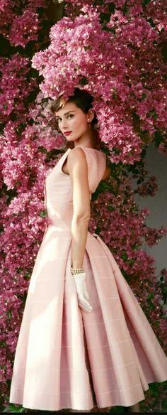 Dior courtesy of Ms. Hepburn