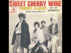 Tommy James & The Shondells - Sweet Cherry Wine - 1969 Cherry Wine, Song Playlist, Sweet Cherries, Greatest Songs, Popular Music, Motown, Kinds Of Music, My Favorite Music, Listening To Music