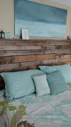 King Size Rustic Headboard $300