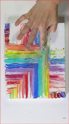Art Diy, Diy Wall Art, Art For Kids, Painting With Kids Ideas, Acrylic Painting For Kids, Canvas Painting Tutorials, Painting Videos, Pour Painting, Easy Acrylic Paintings