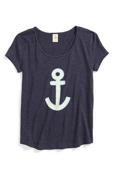 Adorable anchor shirt.