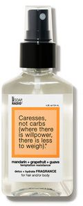 Not Soap Radio Caresses not carbs temptation resistance detox + hydrate fragrance