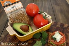 Guacamole & Tomato Pizza by Livin' Spoonful, via Flickr. YUM! Find this recipe on our blog...