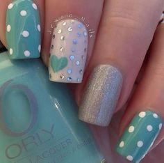 Breathtaking 51 Stunning Summer Nail Art to Try Right Now from https://www.fashionetter.com/2017/06/04/51-stunning-summer-nail-art-try-right-now/