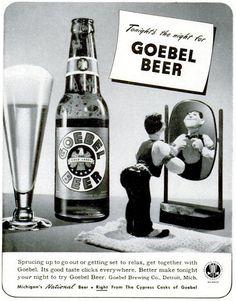Goebel Beer advert, Life, December 7, 1942