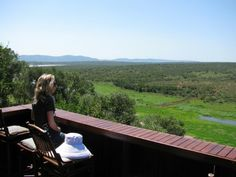 Lodge view, Pongola Game Reserve, South Africa
