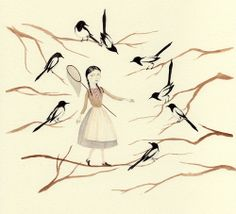 Illustrations: Julianna Swaney // Magpie Catching