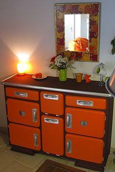 Relooking et esprit vintage - Relooker un meuble   Vieux meubles ...