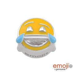 #ZALES - #Persona emoji by Persona Sterling Silver Enamel Tears of Joy Charm at Zales - AdoreWe.com