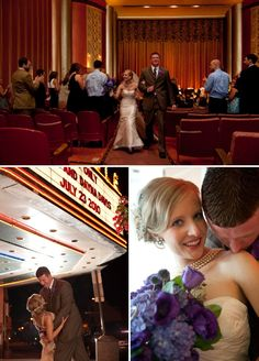 Vintage Pennsylvania Movie Theatre Wedding At The Carlisle! | Style Me Pretty