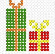 Deze kralenplank en vele andere in het thema kerstmis kun je vinden op de website van Juf Milou. Beaded Crafts, Yarn Crafts, Diy Crafts, Beaded Earrings Patterns, Beading Patterns, Cross Stitch Designs, Cross Stitch Patterns, Cross Stitching, Cross Stitch Embroidery