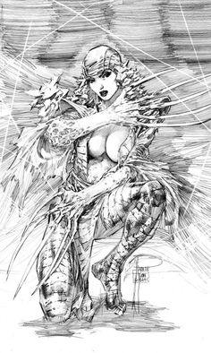 Lady Deathstrike by Philip Tan *