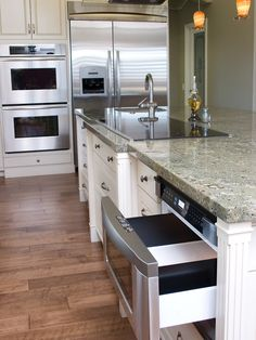 Microwave In Island Design, Pictures, Remodel, Decor and Ideas - page 2