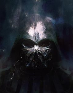 COMICBOOKS123. — pixalry: Broken Vader - Created by Simon Goinard