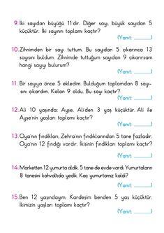 Turkish Language, Tibet, Worksheets, Education, Literacy Centers, Onderwijs, Learning, Countertops