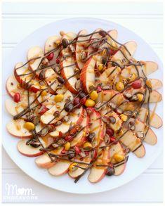 Caramel Apple Nachos and Apple Cider Dip