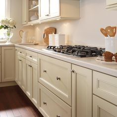Schrock uses Brinkman Oak doors in Sahara finish and Maple ...