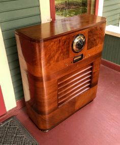 Mae West, Antique Radio, Oral History, Emerson, Radios, Filing Cabinet, Console, Restoration, The Past