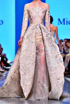 Michael Cinco Couture Michael Cinco Couture, Formal Gowns, Beautiful Gowns, Playing Dress Up, Party Wear, Fashion Outfits, Women's Fashion, Evening Dresses, Fancy Clothes