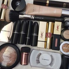 High end makeup collection. Everything from Mac and YSL lipsticks to Hourglass…