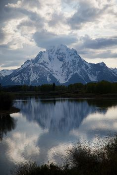 Grand Tetons - Yellowstone Park, Wyoming  Frank took this photo.