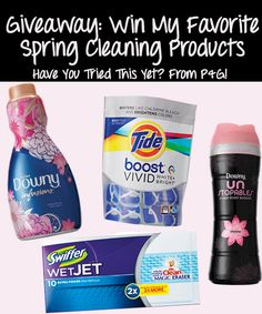 Enter to Win this Spring Cleaning Giveaway!