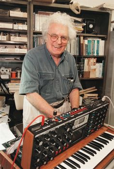 Bob Moog lived in Asheville from 1978 to his death.  Moog Music is still headquartered in the town.  #wncmusic