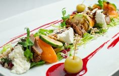 Cobb Salad, Food And Drink, Beef, Healthy Recipes, Chicken, Cooking, Ethnic Recipes, Google, Gourmet