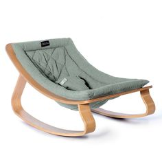 Levo Beech Wood Baby Bouncer Green water Charlie Crane Design - The Effective Pictures We Offer You About minimalist painting A quality picture can tell you many - Charlie Crane, Baby Love, Baby Baby, Crane Design, Minimalist Baby, Minimalist Nursery, Minimalist Painting, Blue Cushions, Natural Baby