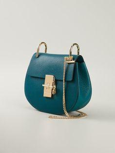 Shop CHLOÉ 'Drew' cross body bag from Farfetch