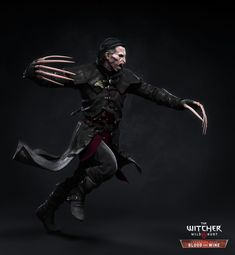 ArtStation - The Witcher III - Dettlaff, Marcin Blaszczak