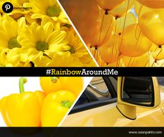 DAY 3: Today's colour is 'YELLOW'!   Look for anything yellow and interesting and pin it to your #RainbowAroundMe board on Pinterest.   Hurry, get pinning! Rs.1000* voucher up for grabs!