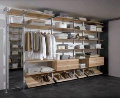Aluminium walk in closet slaapkamer walk in closet