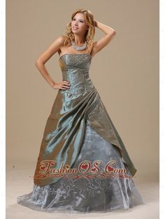 Olive Green Embroidery In Baton Rouge Louisiana For 2013 Dama Dresses for Quinceanera Custom Made  http://www.fashionos.com   high end low price | social activities club | classy prom dresses | miss cover girl | design your own prom dress | debutante and cotillion dresses | cinderella prom dresses | concert dancing dress | 2013 dama dress for quinceanera ball |  Simply designed dresses can also make a dramatic first impression, this one is a perfect example.