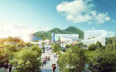 MVRDV win competition for Xili sports and cultural centre Shenzhen