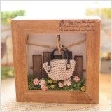 【作家さん×Acorn-Styleコラボ*】ミニチュア雑貨ブリキGarden:オシャレかわいい雑貨のお店 Acorn-Style* Miniature, Frame, Design, Decor, Picture Frame, Decoration, Miniatures, Decorating