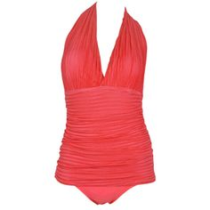 2013 sexy swimwear hot spring swimsuit female push up one piece bathing swimming suit beach wear bikini tankini monokini women-inOne Pieces ...