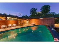 Lautner's Extraordinary Carling House With Indoor-Outdoor Pool Hits the Market Asking $3 Million - New to Market - Curbed LA