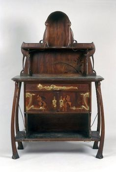 Art Nouveau Desk By Louis Majorelle 1905