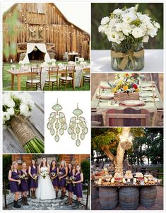 Country Wedding Ideas | wedding themes one of our favorites is a chic backyard country wedding ...